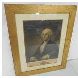 Framed Picture of George Washington