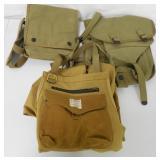 2 U.S. Marine Canvas Bags / Canvas Apron