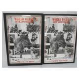 WW II 50th Anniversary Posters