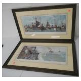 Pair of Military Prints