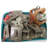 Lot of 36 Cookie Cutters