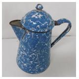 Graniteware Coffee Blue / White