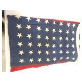 American Flag 48 Hand Sewn Stars 3
