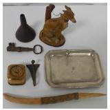 Mixed Lot Funnel/Key/ Dog Bank / More