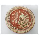 Redware Bowl / Mexico Plate Contemporary