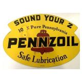 Pennzoil Metal Double-sided sign