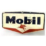 Metal Mobil Sign on Base
