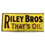Metal Sign Riley Bros.That