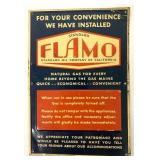 Metal Flamo Standard Oil Co of CA Sign