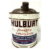 Hulburt Quality Lubricants 5 gallon can