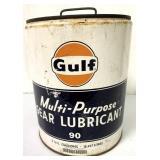 Gulf Multi Purpose Gear Lube 5 gal can