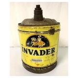 Invader 5 gal oil can