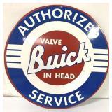 Metal Buick Service Sign