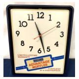 Walker Muffler Clock and Light