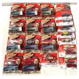 lot of 20+ 2003 Johnny Lightning w/ case & other