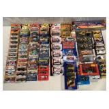 lot of 60+ asst Hot Wheels, Matchbox & others