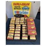 1960 Dupli Colors Counter Dispay