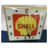 Shell Light and Clock