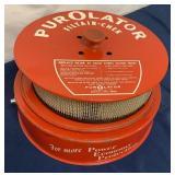 Purolator Air Filter Check Lamp Counter Display