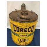 """5 Gallon Oil Can """"Coreco"""""""
