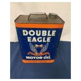 Double Eagle 2 Gallon Motor Oil Can