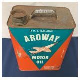 Aroway 2 Gallon Motor Oil Can