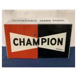 Metal Champion Spark Plug display holder