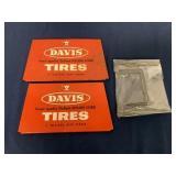 Davis tire holder
