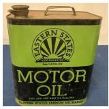 Eastern States 2 1/2 Gallon Motor Oil can
