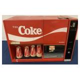 Siemens Coke Vending Machine w/ Coke cups