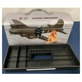 B-17 Flying Fortress Contemporary toolbox & tray