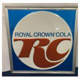 Royal Crown Cola single sided aluminum sign