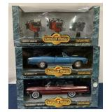 (3) American Muscle Ertl Collectibles in ind. boxe