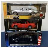 lot of 3 Welly, DubCity, & Ricko die casts