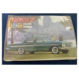 1961 Chevrolet Colors & Fabric Samples Booklet