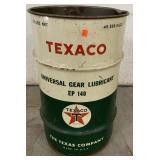 Texaco Gear Lubricant can