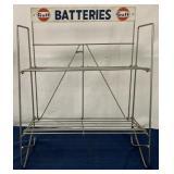 Gulf Batteries Display Rack