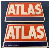 lot of 2 Atlas Tire Holders