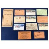lot of 12 Gulf cards, Credit & others