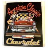American Classics Chevrolet Contemporary sign