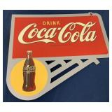 Dual Sided Coca Cola Metal Contemporary sign