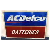 AC Delco Batteries Modern Sign