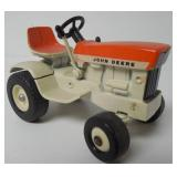 Sunset Orange John Deere patio tractor 1/16