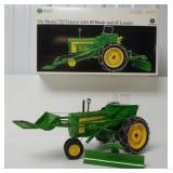 John Deere 720 tractor w/ 80 blade & loader 1/16