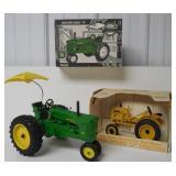 lot of 2 John Deere model 70 & LI tractors 1/16