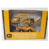 John Deere Construction Equipment Set 1/64