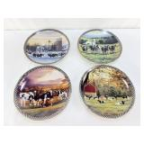 Mohr Farmstead Collector Plates COWS
