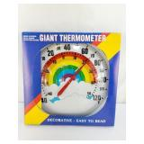 10 Inch Rainbow Thermometer