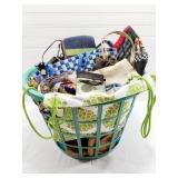Clothes Basket & Purses