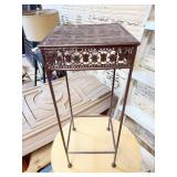 Small Metal Stand 9x9x23